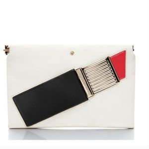 kate spade madison avenue lipstick clutch purse